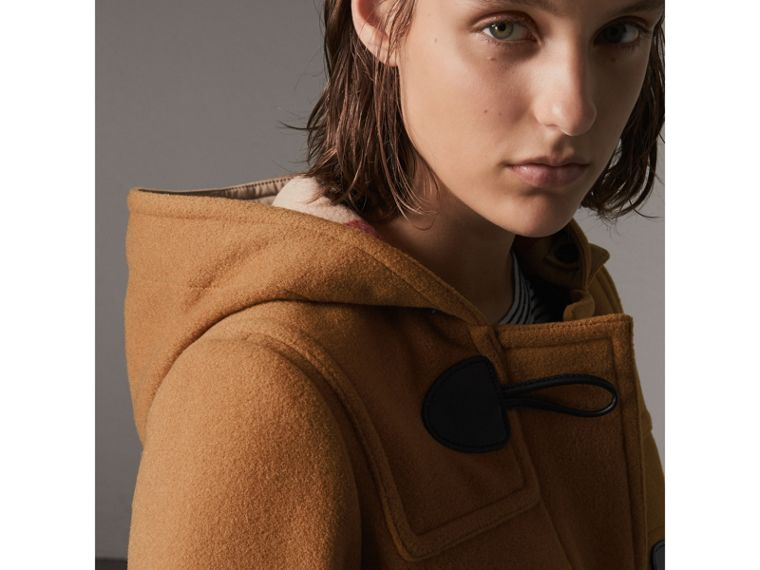 The Mersey Duffle Coat in Mid Camel - Women | Burberry Singapore - cell image 1