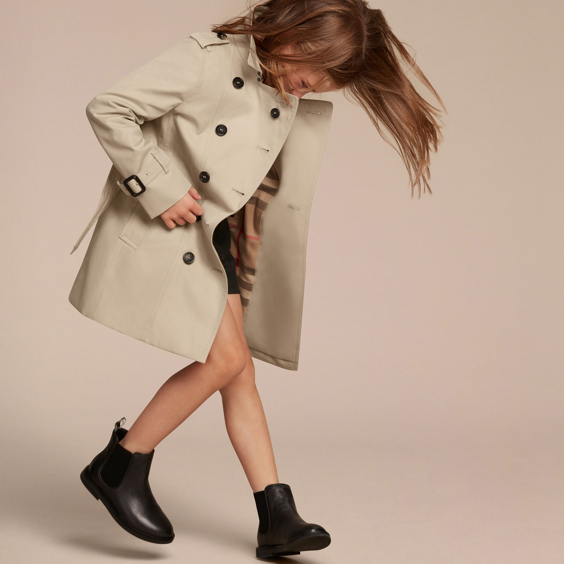 The Sandringham – Heritage Trench Coat - Girl | Burberry - gallery image 3