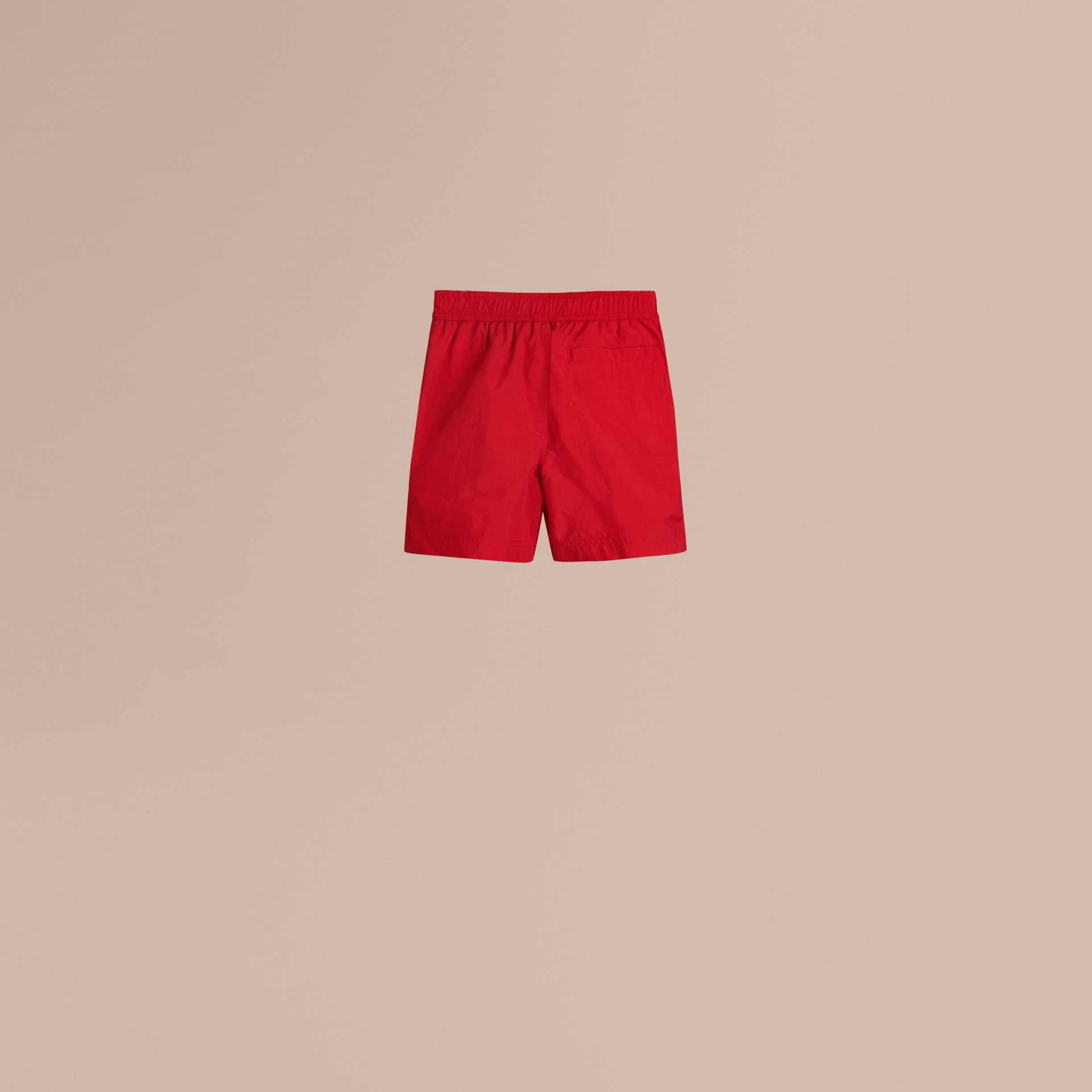 Lightweight Swim Shorts in Military Red - Boy | Burberry Australia - gallery image 3