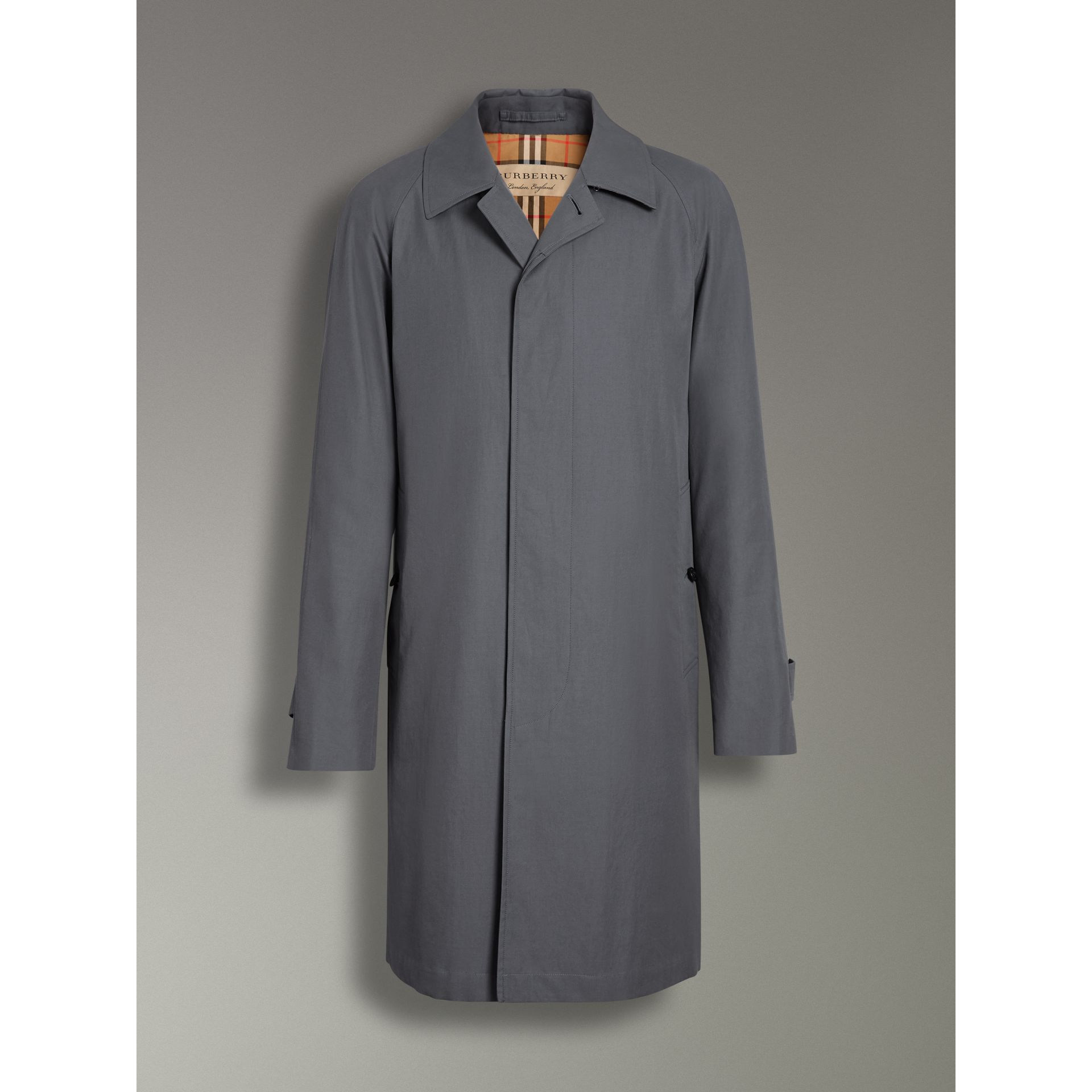 The Camden Car Coat in Mid Grey - Men | Burberry United States - gallery image 3