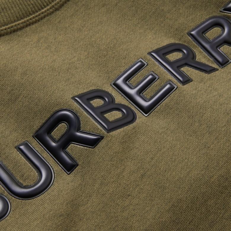Burberry - Sweat-shirt en coton avec logo - 2
