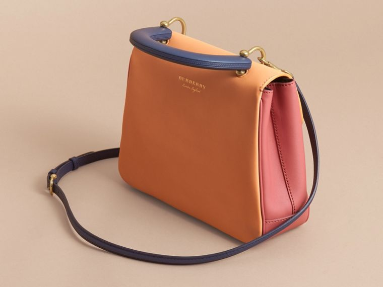 The Medium DK88 Top Handle Bag Blossom Pink/pale Clementine - cell image 4