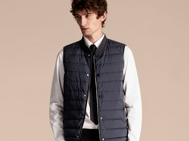 Navy Lightweight Field Jacket with Detachable Gilet - cell image 4
