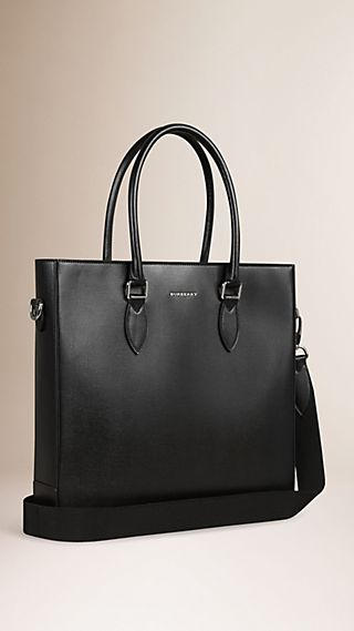London Leather Tote Bag