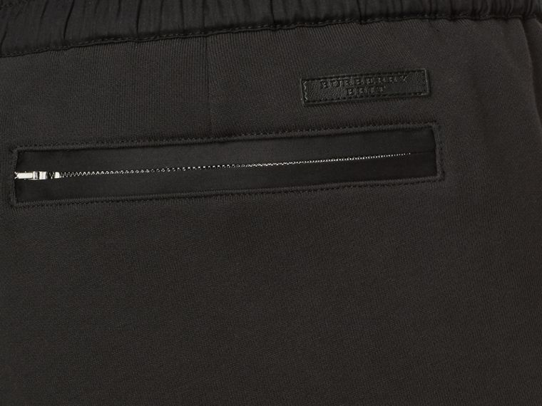 Cotton Sweatpants in Black - Men | Burberry - cell image 1
