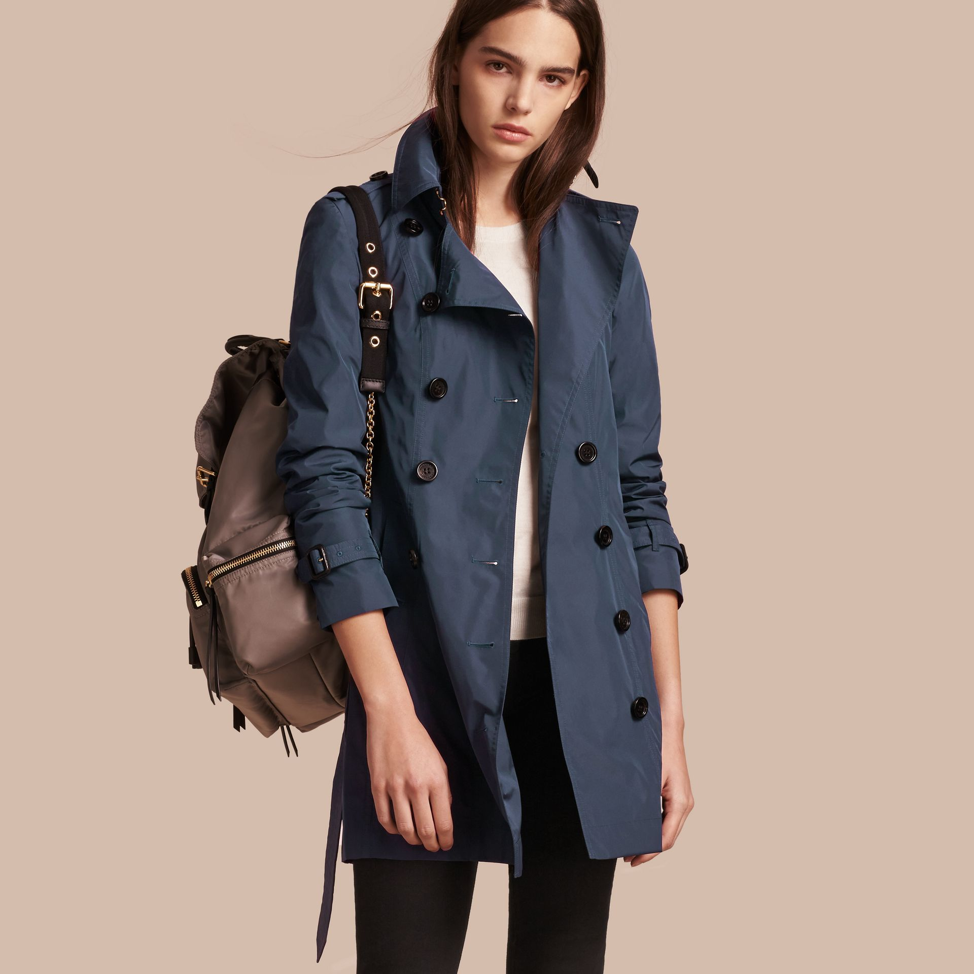 Lightweight Trench Coat - gallery image 1