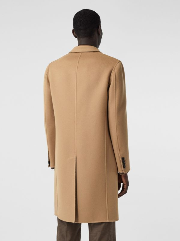 Double-faced Wool Tailored Coat in Soft Fawn/mid Grey Melange - Men | Burberry - cell image 2