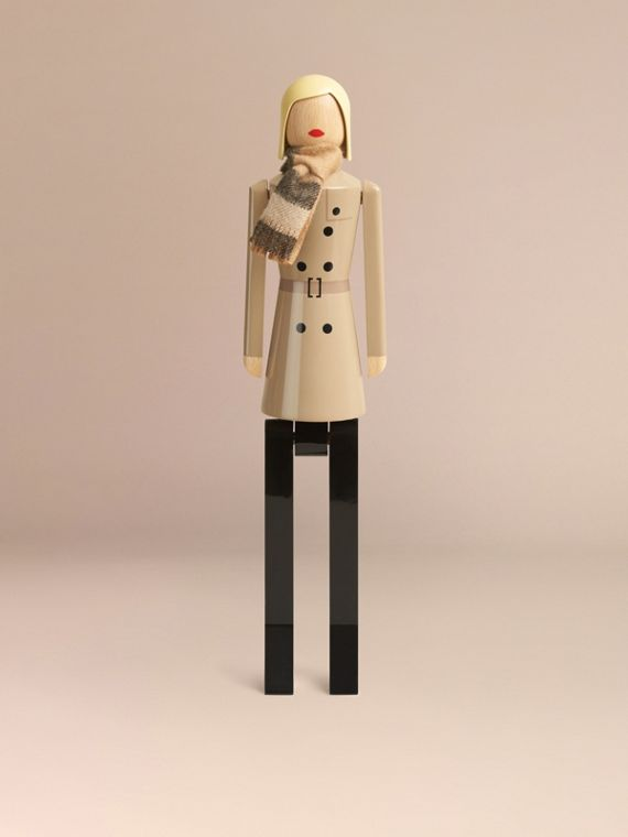 Multicolour Miss Trench Limited Edition Wooden Puppet - cell image 3