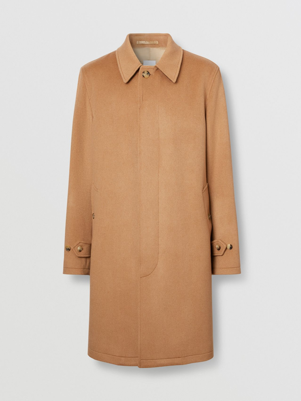 Cashmere Car Coat in Bronze