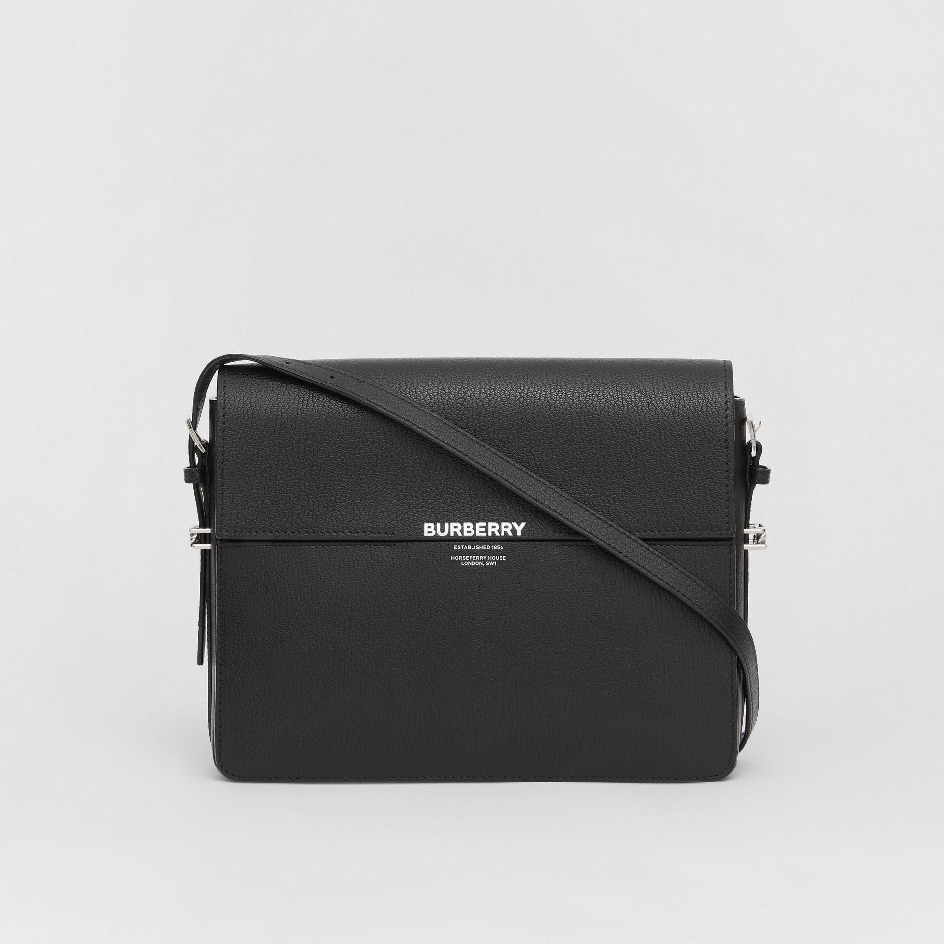 Large Leather Grace Bag in Black - Women | Burberry - gallery image 0