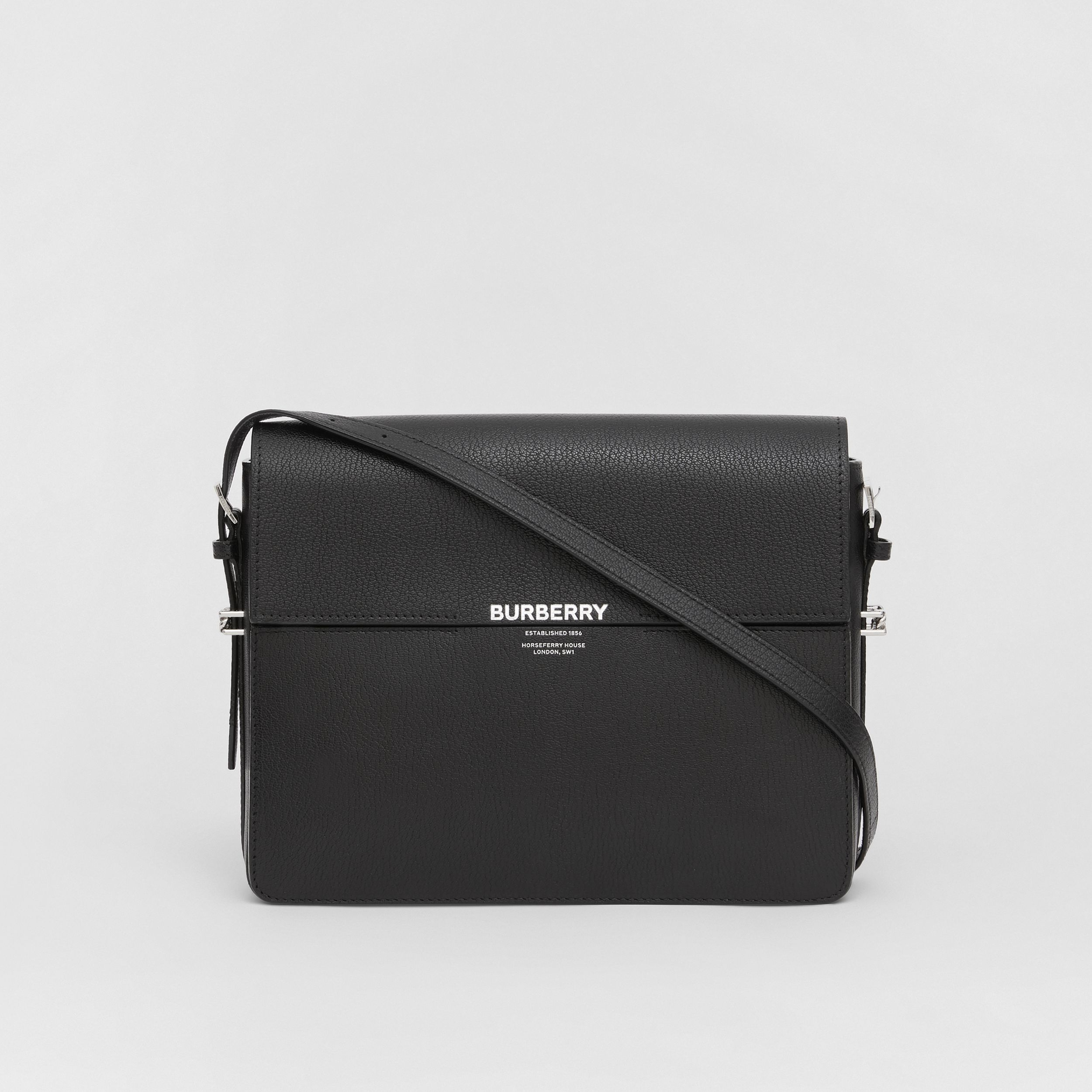 Large Leather Grace Bag in Black - Women | Burberry - 1