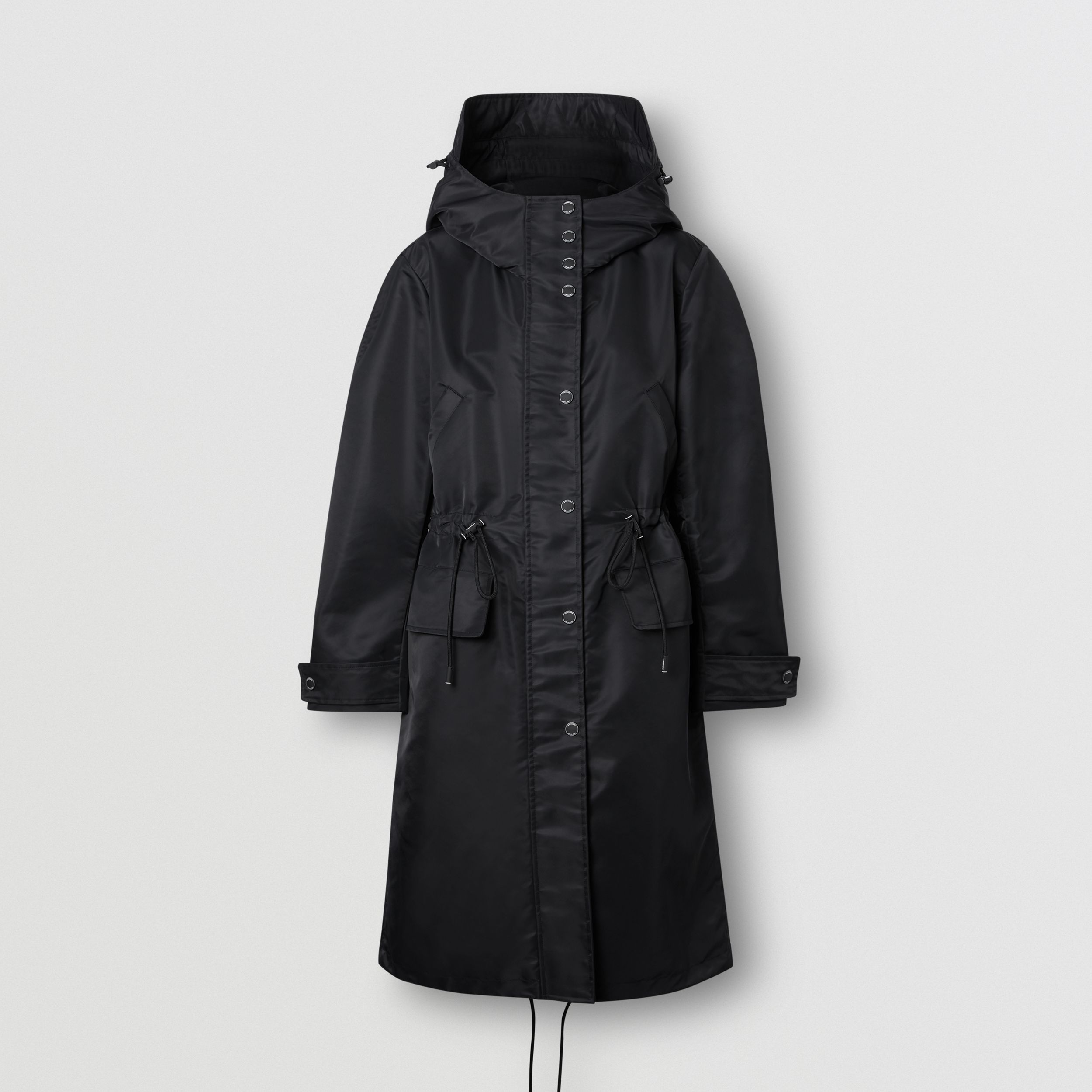 Parka en nylon recyclé Horseferry (Noir) - Femme | Burberry - 4
