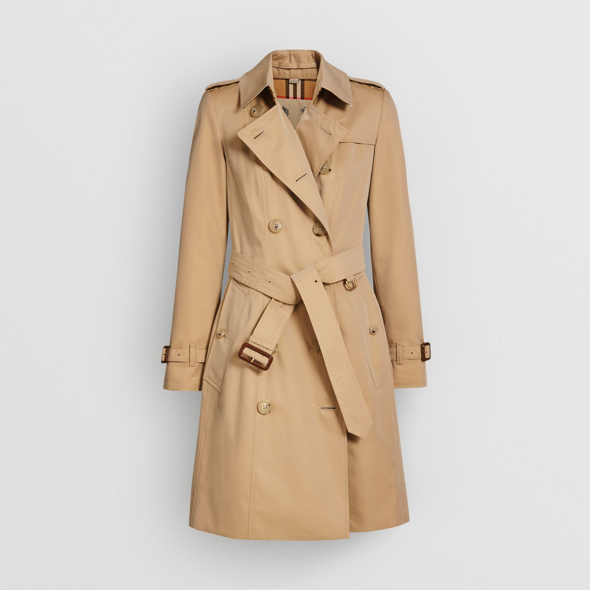 Trench coat Heritage The Chelsea (Miele) - Donna | Burberry - immagine della galleria 3