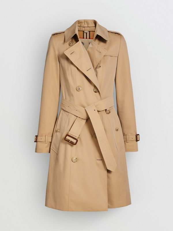 The Chelsea Heritage Trench Coat in Honey - Women | Burberry Hong Kong - cell image 3