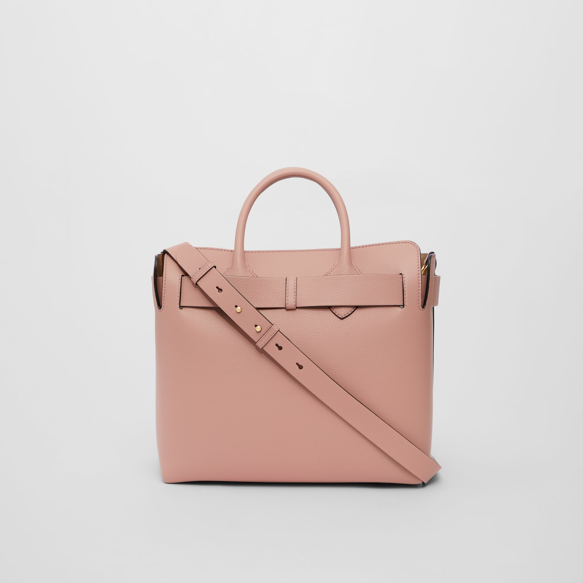 The Medium Leather Triple Stud Belt Bag in Ash Rose - Women | Burberry United States - gallery image 5