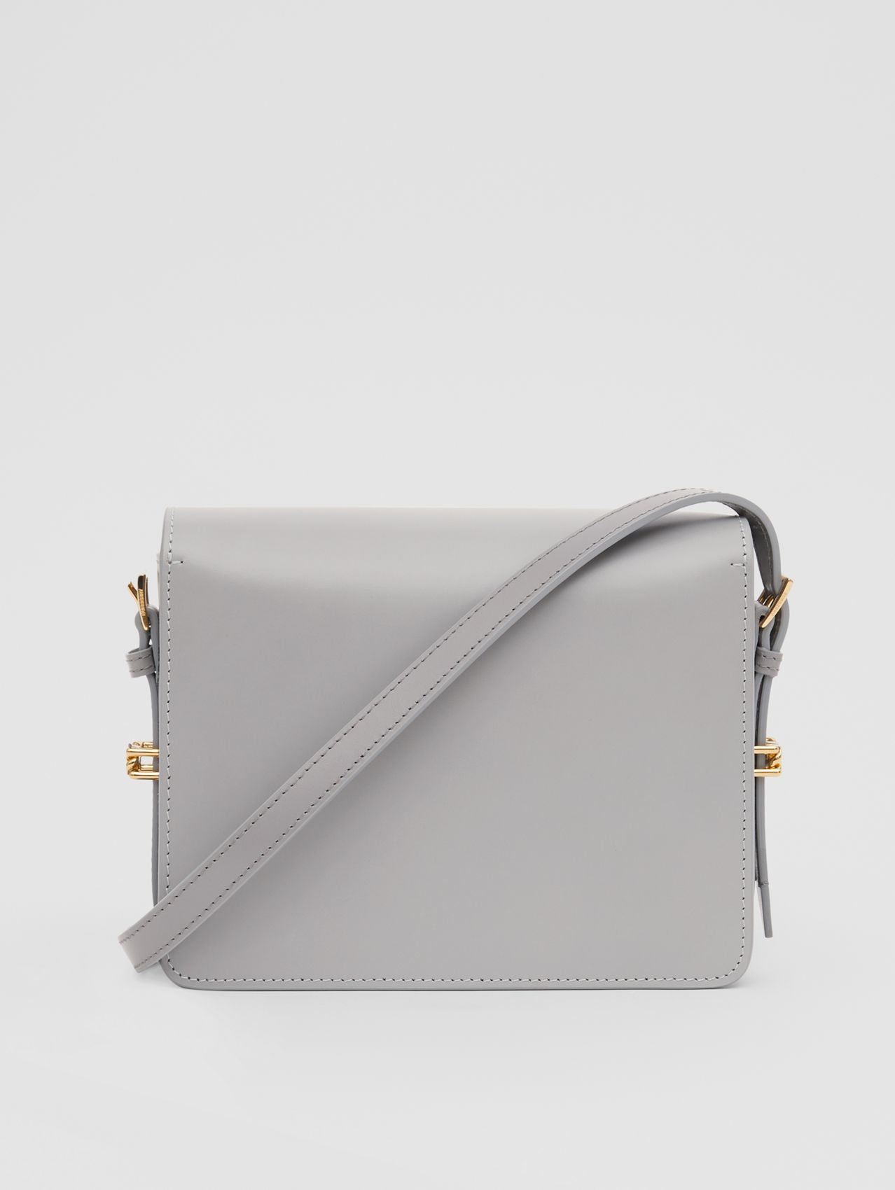 Small Two-tone Leather Grace Bag (Heather Grey/cloud Grey)