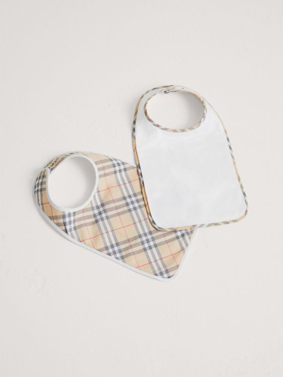Cotton Two-piece Baby Gift Set in White