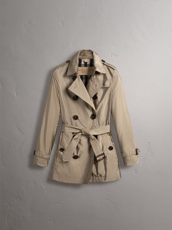 Lightweight Trench Coat in Sisal - cell image 3
