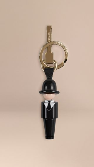 The City Gent Key Charm