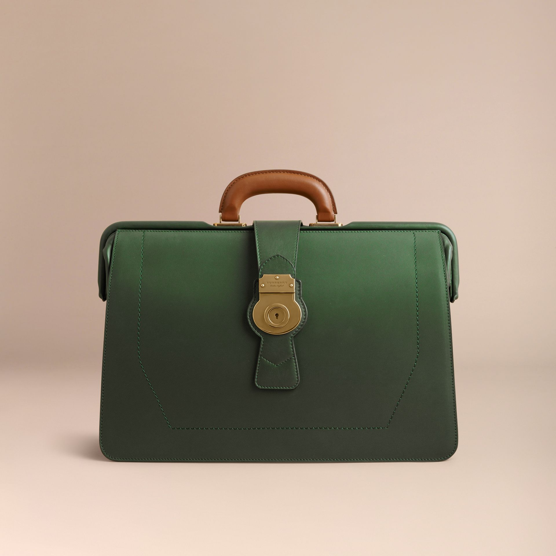 The DK88 Doctor's Bag in Dark Forest Green - Men | Burberry United States - gallery image 6