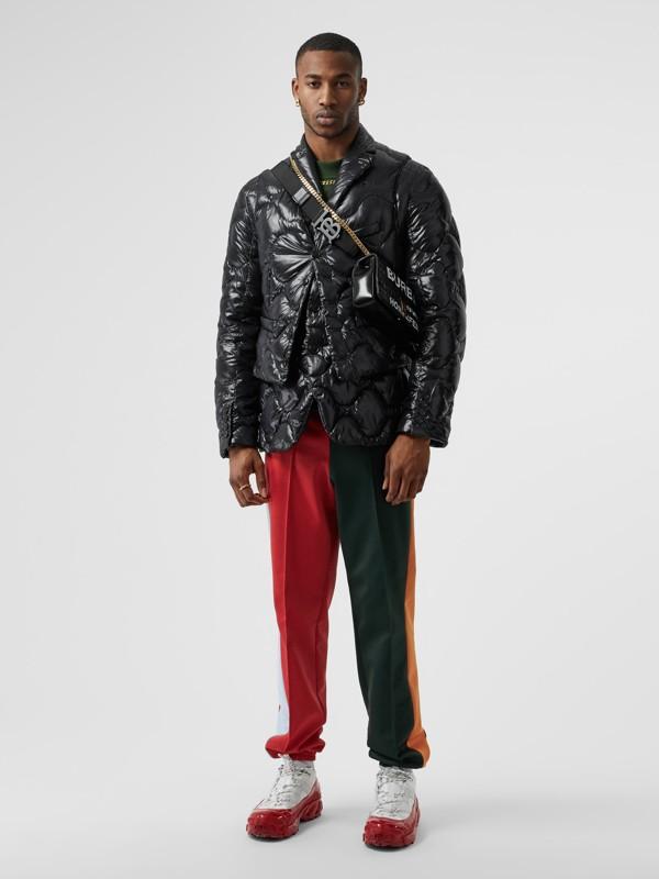 Nylon Puffer Waistcoat in Black - Men | Burberry - cell image 3