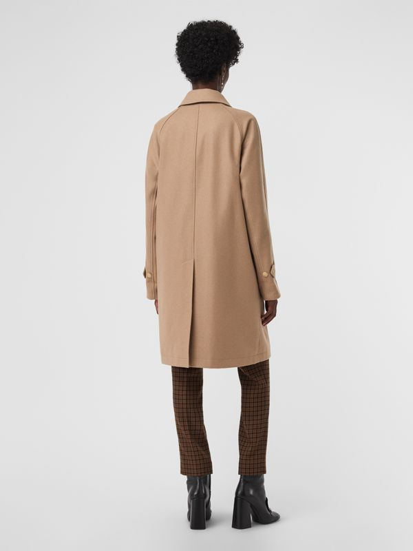 Cashmere Car Coat in Camel - Women | Burberry Australia - cell image 2