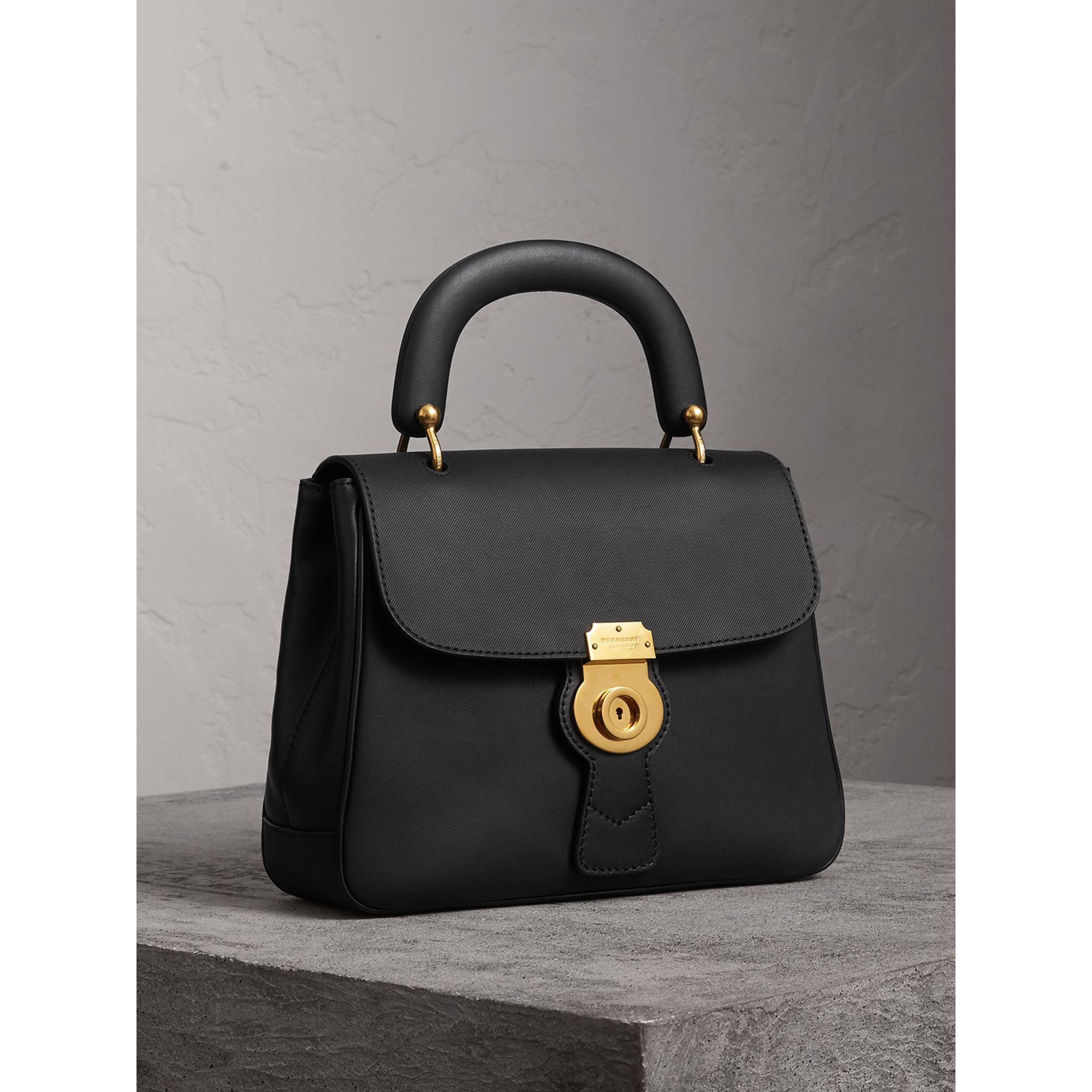 The Medium DK88 Top Handle Bag in Black - Women | Burberry Singapore - gallery image 8