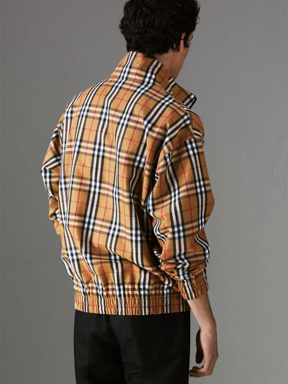 Vintage Check Lightweight Jacket in Antique Yellow - Men | Burberry Canada - cell image 2