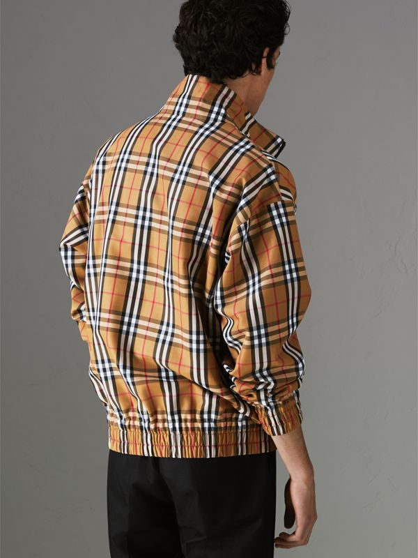 Vintage Check Lightweight Jacket in Antique Yellow - Men | Burberry - cell image 2