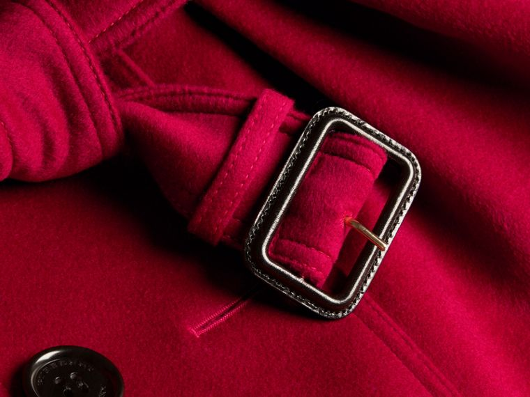 Parade red Wool Cashmere Trench Jacket - cell image 1