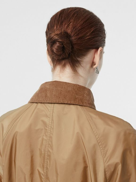 Detachable Hood Taffeta Parka in Honey - Women | Burberry Canada - cell image 1