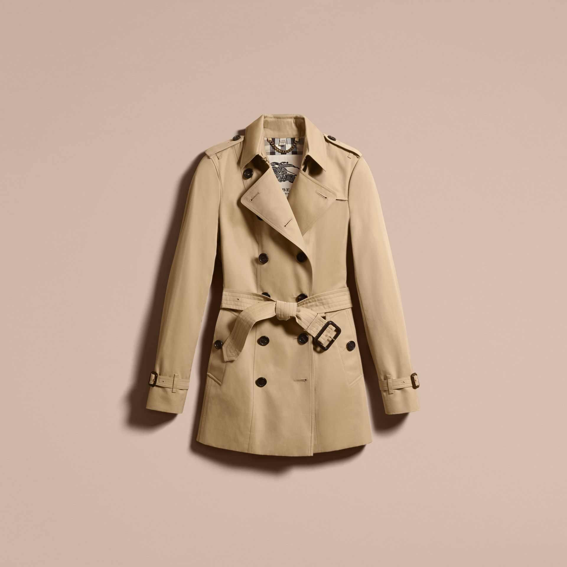 Miel The Sandringham – Trench-coat Heritage court Miel - photo de la galerie 4