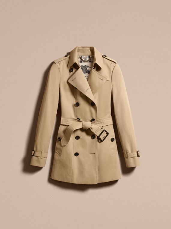 Miele The Sandringham - Trench coat Heritage corto Miele - cell image 3