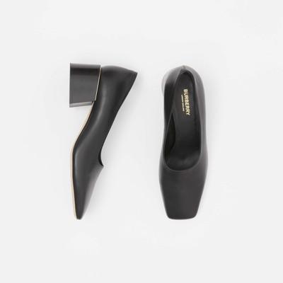 burberry block heel