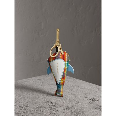 Burberry Walter the Shark cotton charm - Multicolour