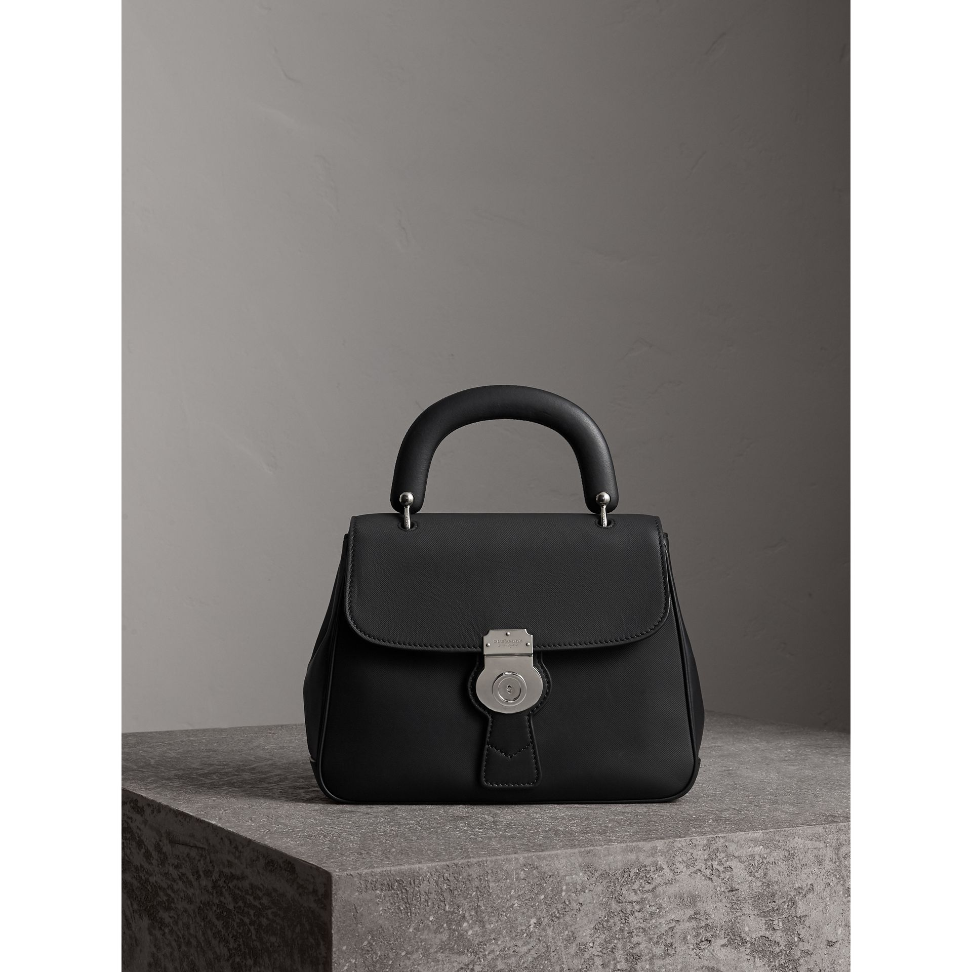 The Medium DK88 Top Handle Bag in Black - Women | Burberry - gallery image 1