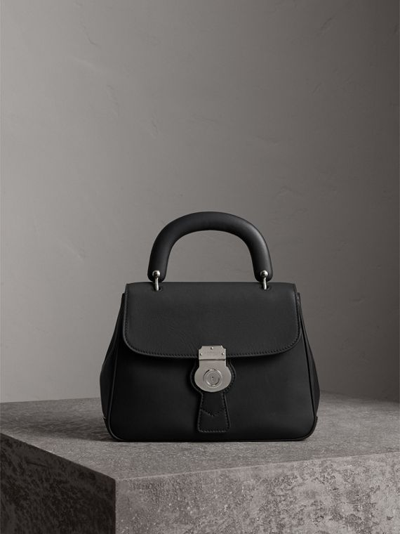 The Medium DK88 Top Handle Bag in Black