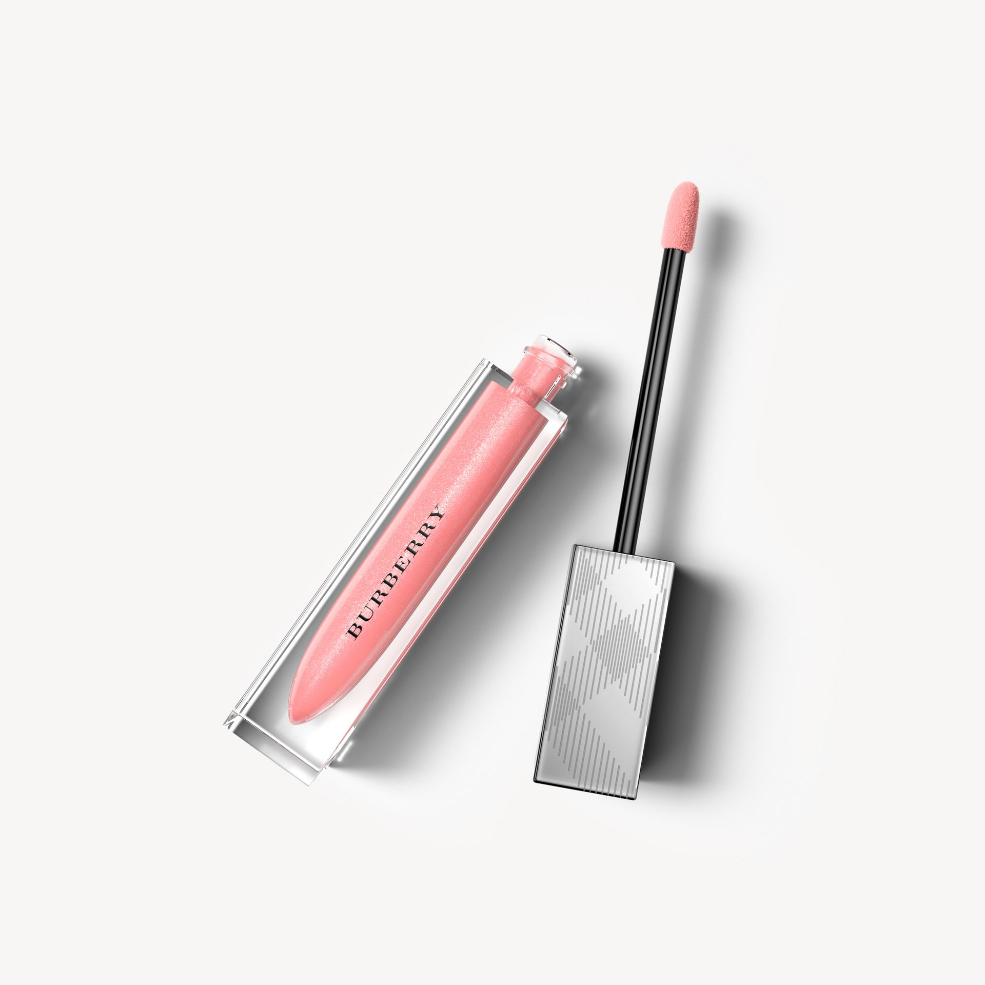Nude pink no.25 Burberry Kisses Gloss - Nude Pink No.25 - gallery image 1