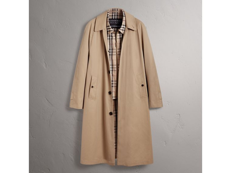 Gosha x Burberry Reconstructed Car Coat in Honey | Burberry Australia - cell image 4