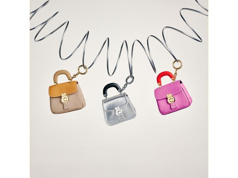 The DK88 Charm in Silver - Women | Burberry - cell image 1