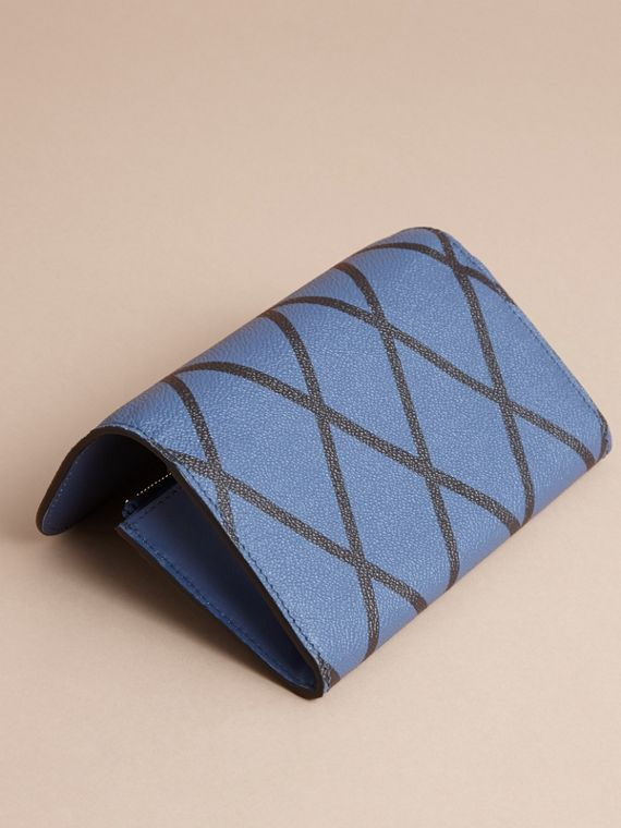 Trompe L'oeil Print Leather Continental Wallet - Women | Burberry - cell image 2