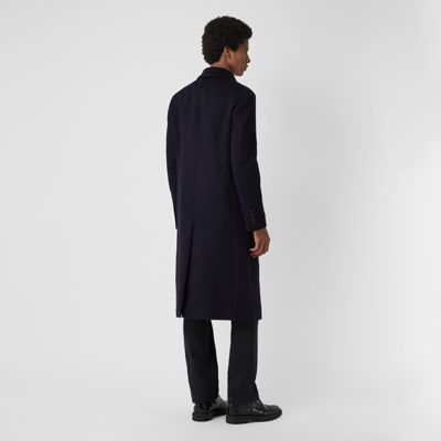 Uomo Navy Burberry Cappotto Double In Sartoriale Q8zxuwe Face Cashmere Yx6zE fdd28b51396e