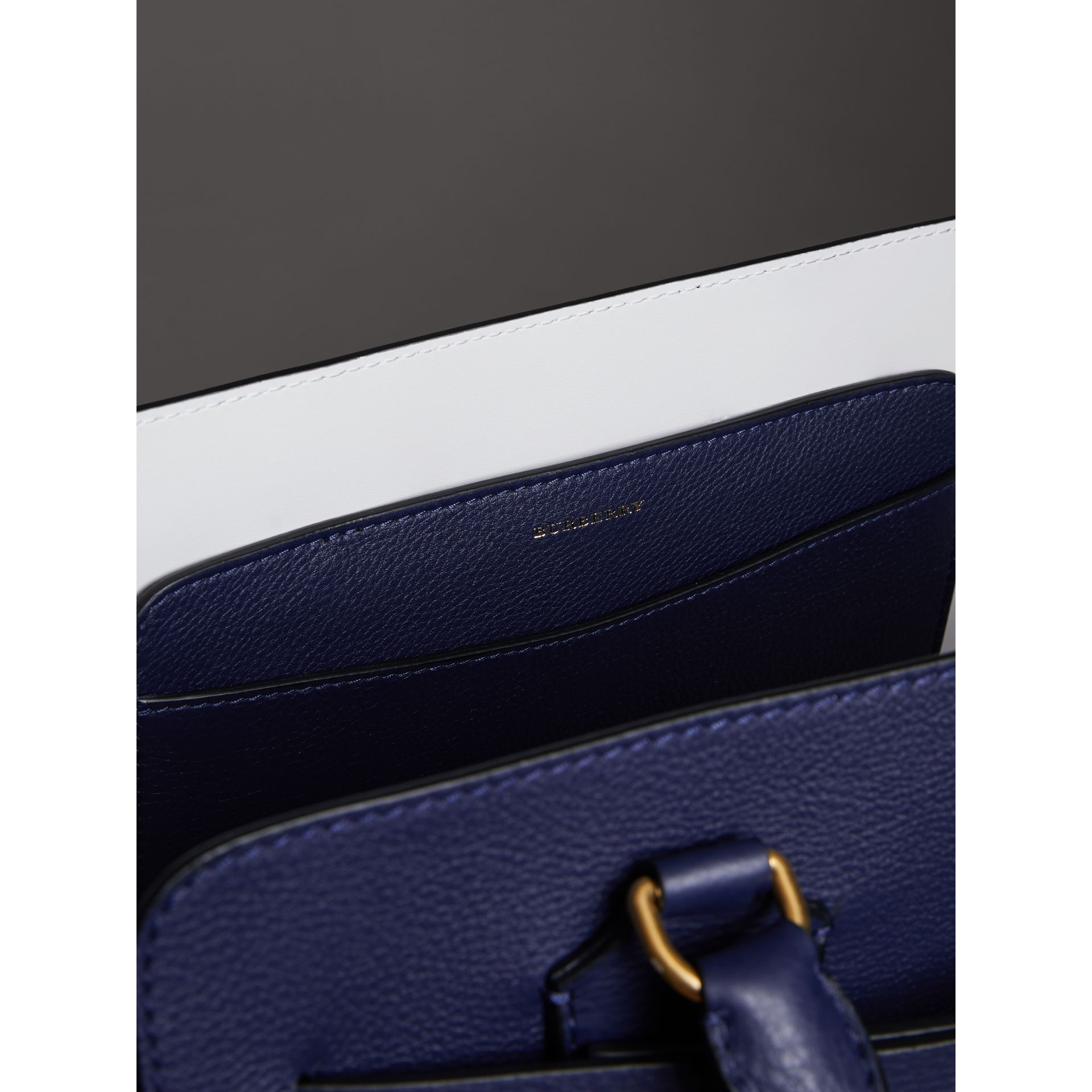 The Medium Leather Belt Bag in Regency Blue - Women | Burberry Canada - gallery image 5