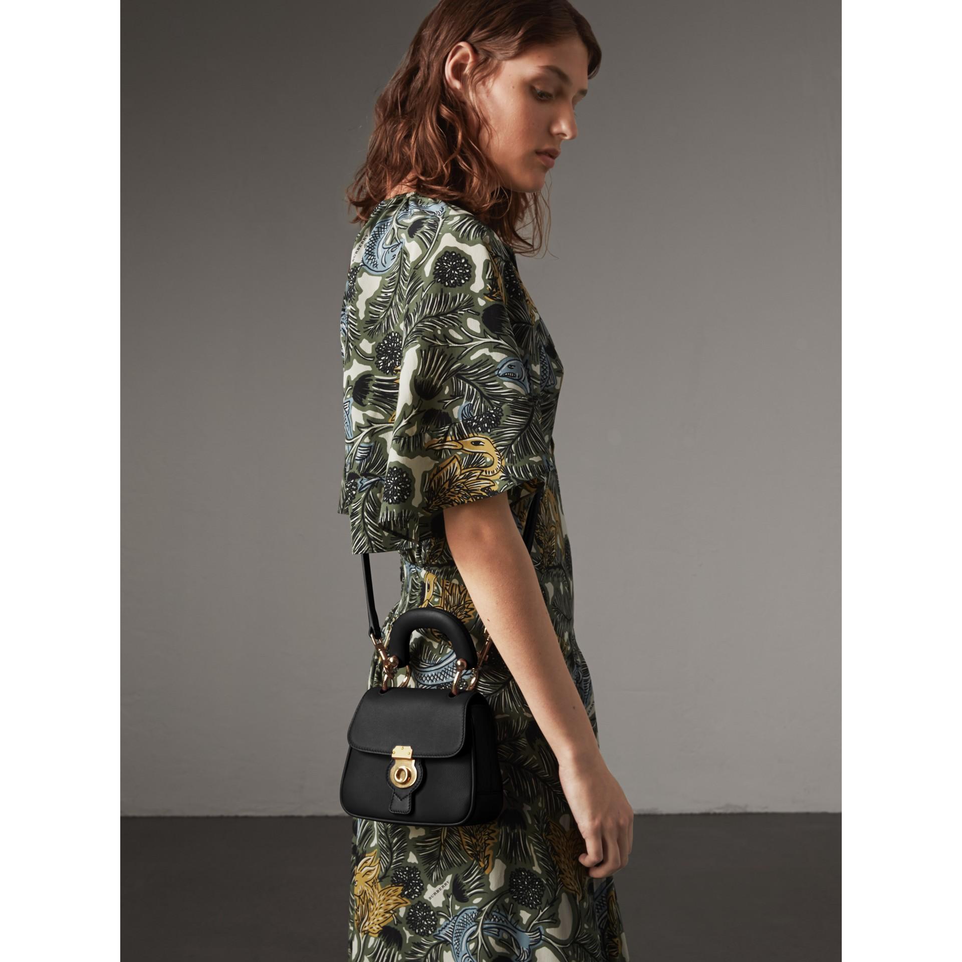 The Mini DK88 Top Handle Bag in Black - Women | Burberry Australia - gallery image 3