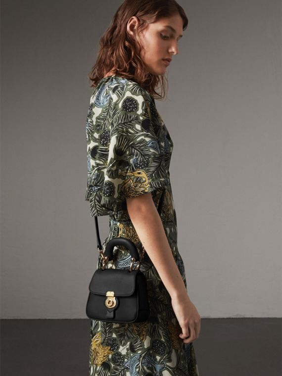 The Mini DK88 Top Handle Bag in Black - Women | Burberry - cell image 2