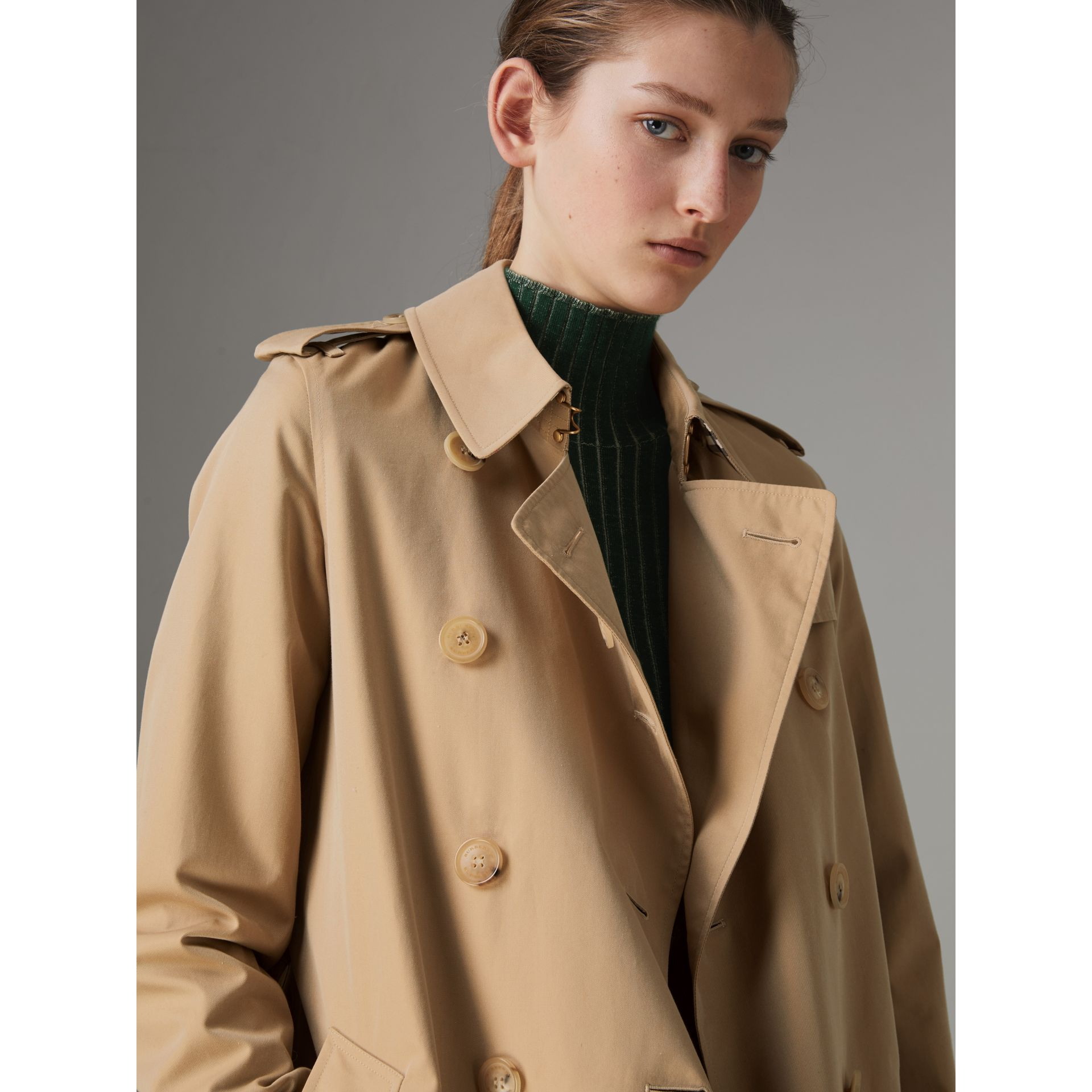 The Kensington – Trench Heritage (Miel) - Femme | Burberry - photo de la galerie 5