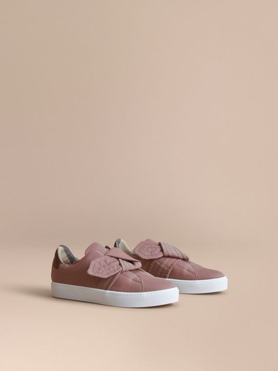 Trench Knot Trainers in Antique Rose