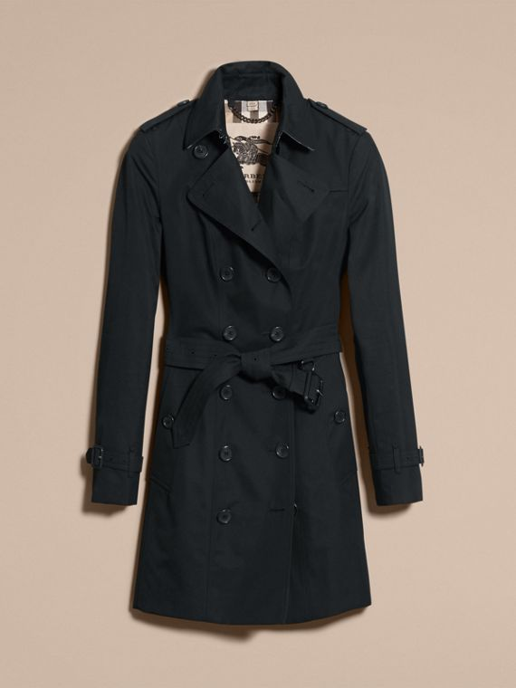 Nero The Sandringham - Trench coat Heritage medio Nero - cell image 3