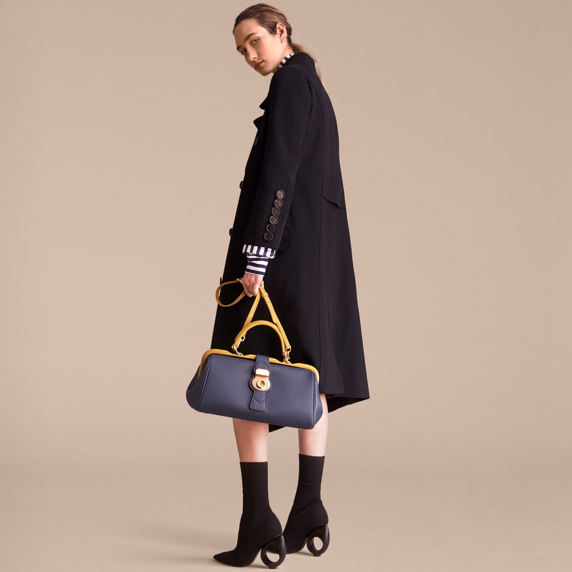 The DK88 Bowling Bag in Ink Blue - Women | Burberry - gallery image 8