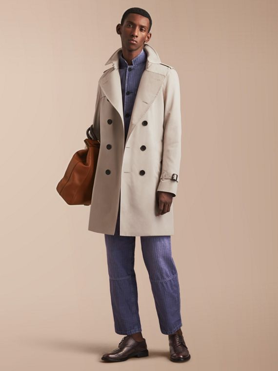 The Kensington - Trench coat Heritage longo Stone